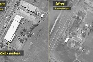 Israel khoe ảnh căn cứ Syria bị san phẳng giữa lúc căng thẳng