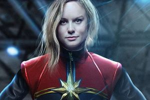Lộ diện nữ siêu anh hùng mạnh nhất nhà Marvel: Captain Marvel