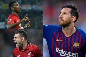 Vua phá lưới Champions League 2018/2019: Pogba bám đuổi Messi