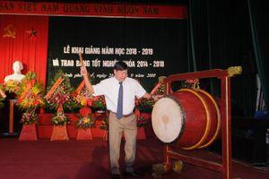Học viện Âm nhạc Huế thực hiện 9 nhiệm vụ trọng tâm trong năm học mới