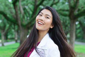 Hoa khôi du học sinh Việt tốt nghiệp điểm tuyệt đối từ Viện nghiên cứu ung thư hàng đầu nước Mỹ
