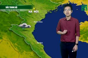 Dự báo thời tiết: Thời tiết tại các tỉnh Bắc Bộ phổ biến nắng ráo ít mưa