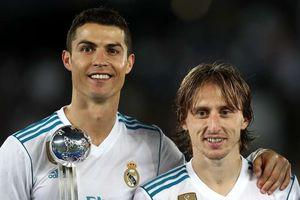 Casemiro gạt Modric, chọn Ronaldo cho Quả bóng vàng 2018