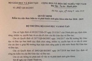 Bộ GD&ĐT kiểm tra việc in, phát hành SGK tại NXB Giáo dục Việt Nam