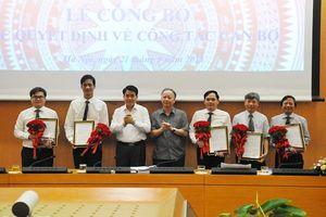 Hà Nội: Bổ nhiệm, bổ nhiệm lại 5 phó giám đốc sở