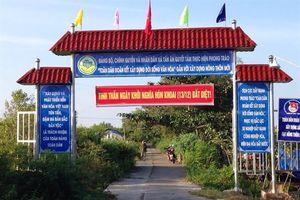 Tân Ân chuyển mình rõ nét từ phong trào xây dựng nông thôn mới