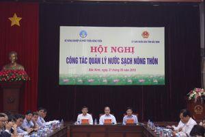 Hội nghị công tác quản lý nước sạch nông thôn