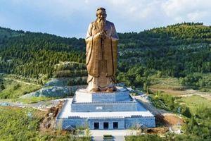 Trung Quốc dựng xong tượng Khổng Tử lớn nhất thế giới