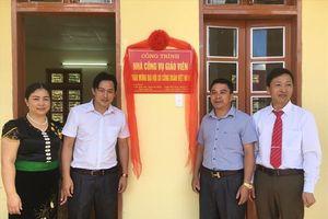 CĐ ngành Giáo dục Sơn La bàn giao Nhà công vụ giáo viên cụm trường xã Chiềng Muôn, huyện Mường La