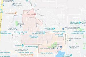 Dự kiến điều chỉnh địa giới 3 quận giáp nhau của Hà Nội