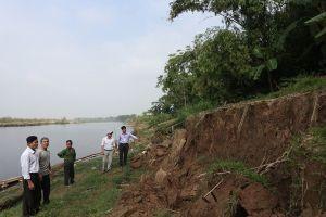 Hà Nội duyệt chi hơn 45 tỷ đồng chống sạt lở hơn 1,3km bờ hữu sông Hồng ở Ba Vì