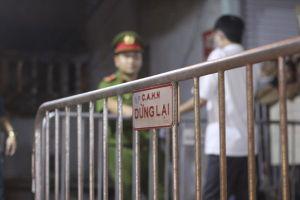 Phát hiện thi thể sau đám cháy cạnh bệnh viện Nhi: Công an mở rộng vùng hạn chế người ra vào để khám nghiệm hiện trường