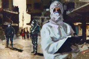 Khiêu khích hóa học mới ở tỉnh Hama?