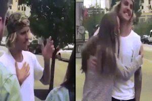 Clip Justin Bieber co giật, nghi bị sốc ma túy trên đường phố