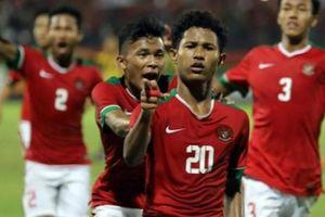 U16 Indonesia thắng sốc, còn U16 Việt Nam thì ngược lại