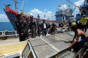 Thái Lan tiêu hủy tàu cá trái phép để tránh trừng phạt của EC