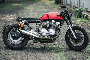 Honda CB750 'đồng nát', lột xác nhờ garage Tự Thanh Đa