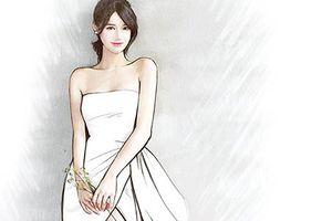 Nhã Phương sẽ mặc váy cưới xẻ cao quyến rũ trong hôn lễ