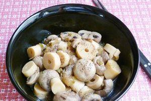 Món ngon mỗi ngày: Cách làm món nấm kho măng ngon ngọt cho bữa trưa nhẹ nhàng