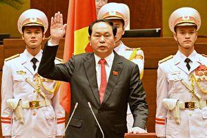 Những hình ảnh ấn tượng của Chủ tịch nước Trần Đại Quang
