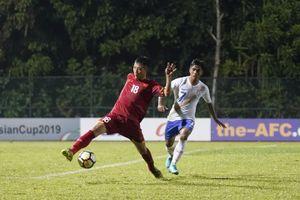 U.16 Việt Nam thua trận ra quân giải châu Á 2018