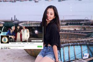 Trang facebook chính thức của Hoa hậu Trần Tiểu Vy