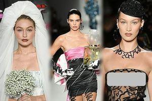 Gigi Hadid hóa cô dâu, Bella lộ ngực, Kendall thả dáng hoàn hảo