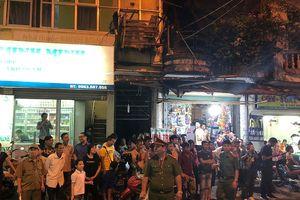 Hà Nội: Phát hiện thi thể người trong vụ cháy ở gần Viện Nhi?