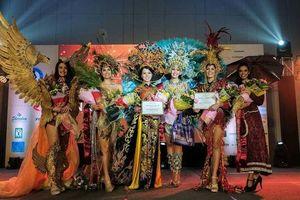 Huỳnh Thúy Vi giành giải thưởng trang phục truyền thống đẹp nhất