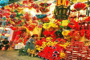 Chùm ảnh: Nhộn nhịp chợ Trung thu truyền thống