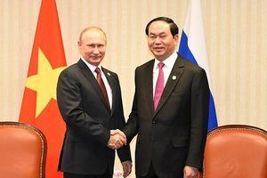 Tổng thống Nga Putin chia buồn việc Chủ tịch Trần Đại Quang qua đời