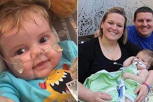Bệnh nhân 8 tháng tuổi ghép tim, phổi được về nhà và tiến triển tốt sau ca phẫu thuật
