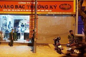 Truy bắt nhanh ba đối tượng gây ra vụ cướp tiệm vàng ở Sơn La