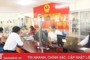 Trung tâm Hành chính công huyện Vũ Quang chính thức đi vào hoạt động