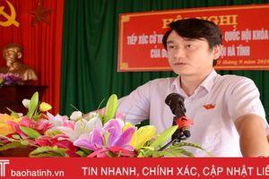 Cử tri Can Lộc mong muốn tăng cường các chế tài xử lý trong các bộ luật