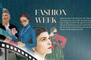 'Cô ba Sài Gòn' có mặt tại tuần lễ chiếu phim Fashion Week Pháp - Việt Nam