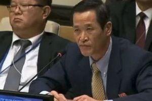 Tân Đại sứ Triều Tiên trình quốc thư lên Tổng thư ký Liên hợp quốc