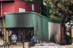 Nghi có người chết cháy trong vụ hỏa hoạn cạnh Bệnh viện Nhi