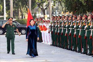 Chủ tịch Quốc hội Nguyễn Thị Kim Ngân dự Lễ khai giảng Học viện Quốc phòng