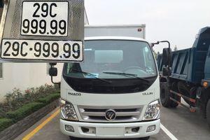 Dân mạng xôn xao xe tải Thaco bốc biển ngũ quý 9 'khủng'