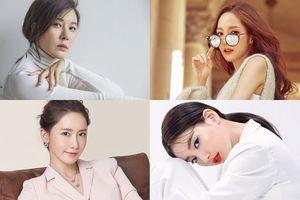 Lộ diện sau sinh con, Kim Ha Neul đọ sắc cùng Park Min Young, Yoona và Suzy trên tạp chí