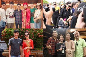 Dàn sao Việt giản dị tề tựu đền thờ của Hoài Linh để tri ân Tổ nghề