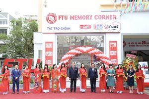 Cơ sở II trường ĐH Ngoại Thương: Khai trương gian hàng lưu niệm FTU Memory Corner
