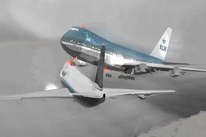 Kinh hoàng vụ hai máy bay đâm nhau khiến 351 người chết thảm