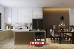 Mẫu thiết kế nhà 2 tầng phong cách hiện đại, tiện nghi và tinh tế