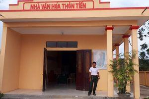 Xã Quảng Nham đẩy mạnh phong trào xây dựng đời sống văn hóa cơ sở