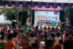 Hội Chữ thập đỏ tỉnh tổ chức trung thu cho các em thiếu niên nhi đồng