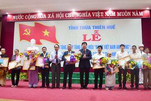 Thừa Thiên Huế: Trao tặng và truy tặng 21 danh hiệu 'Bà mẹ Việt Nam Anh hùng' 