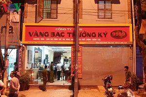 Vụ cướp tiệm vàng Sơn La: Các đối tượng đã theo dõi từ vài ngày trước