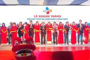 Tập đoàn CJ vận hành nhà máy thức ăn chăn nuôi thứ 6 tại Việt Nam
